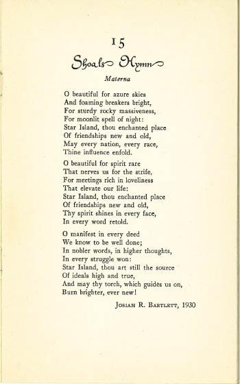 Shoals Hymn