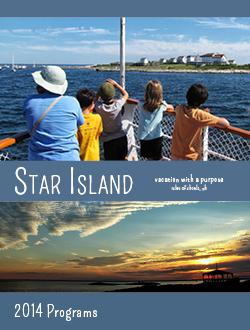 Star Island 2014 Program Catalog Cover