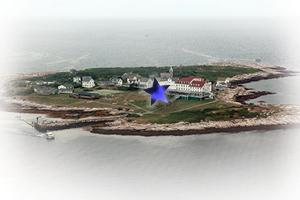 Star Island Aerial Darren Grebe Lawrance