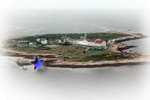 Star Island Aerial Darren Grebe Pier