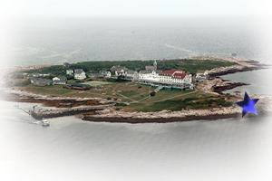 Star Island Aerial Darren Grebe Summer House